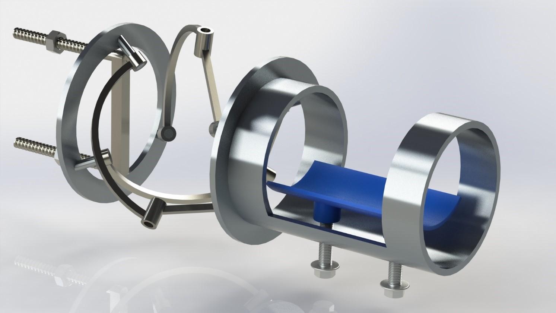 مدل سازی سه بعدی قطعات